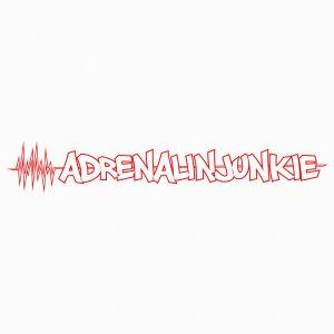 """Aufkleber """"Adrenalinjunkie"""""""