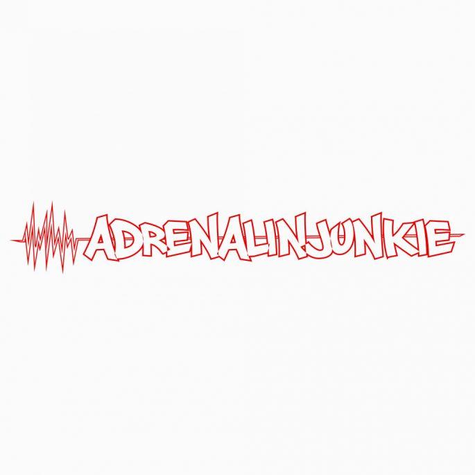 Aufkleber Adrenalinjunkie