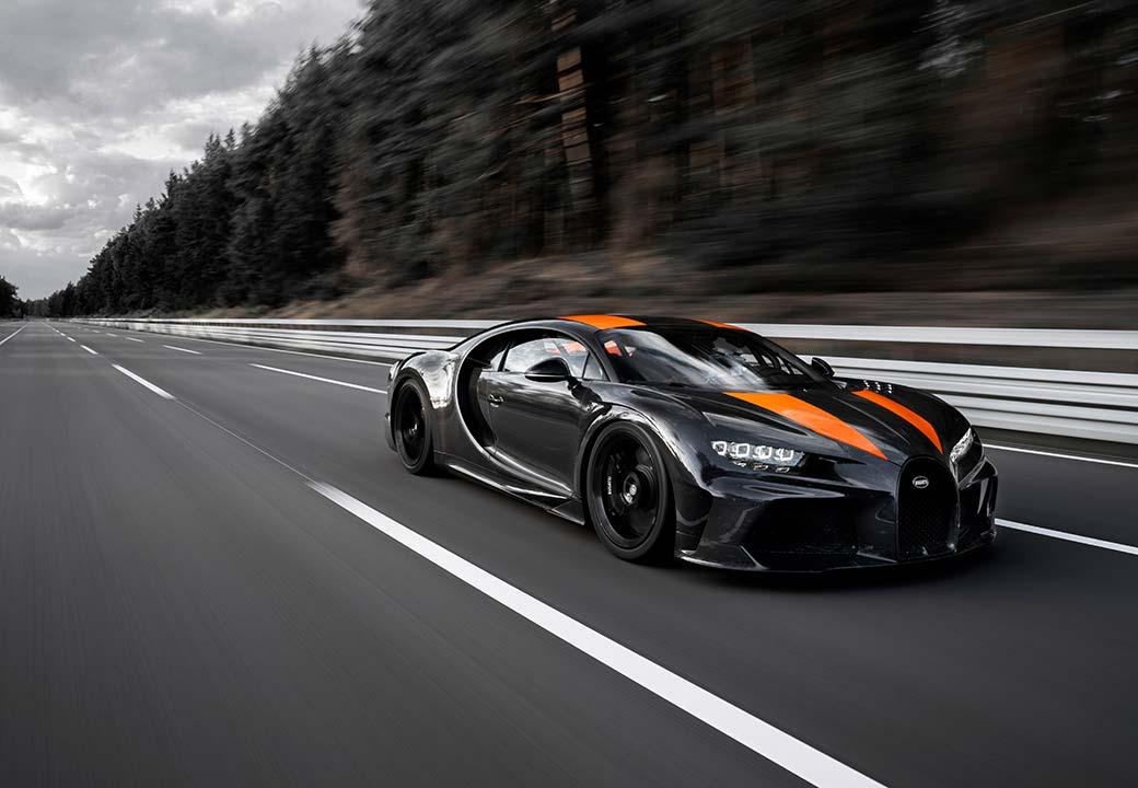Bugatti Chiron Geschwindigkeitsrekorde