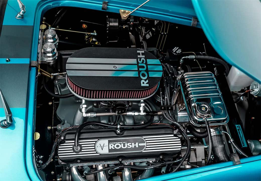 Motor der Superperformance Cobra