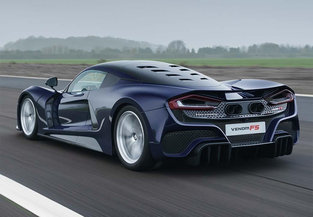 Das Hypercar Hennessey Venom F5 soll 500 km/h schnell sein