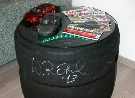 Beistelltisch LED Motorsport